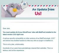 Mailpoet hacked