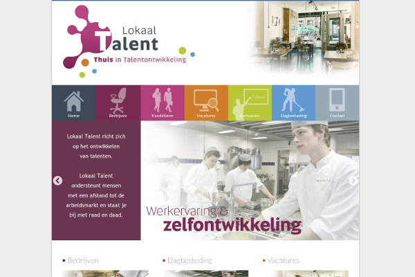 Lokaal Talent Slider