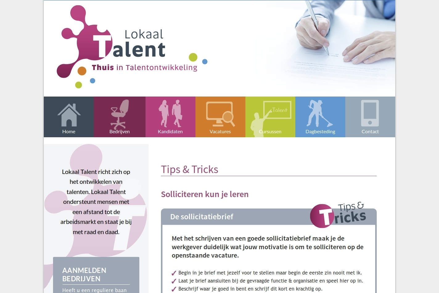 Lokaal Talent Tips and Tricks