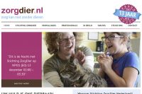 Website ZorgDier Nederland
