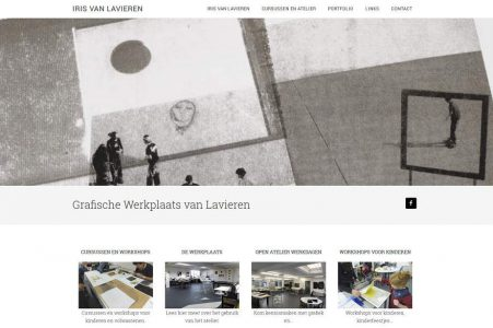 Website Iris van Lavieren
