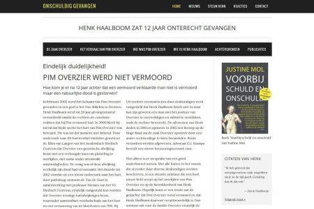 Onschuldigd gevangen - Henk Haalboom
